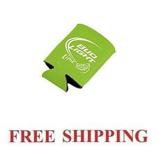 BUD LIGHT LIME BEER CAN WRAP COOLERS KOOZIE COOLIE HUGIE NEW BUDWEISER