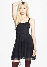 Nwt Free People Lace Fit And Flare Dress S