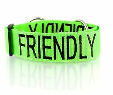 Color Coded Pet Dog Collar Semi Choke Heavy Duty Strong By Friendly Dog Collars