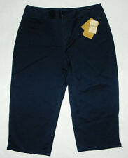 NEW Coldwater Creek Sunwashed Crop Pants size 10 P10 Women's Petite Capri