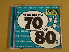 2-CD STUDIO BRUSSEL / WAS HET NU 70 OF 80?