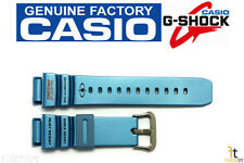 CASIO G-Shock G-9100TC-2 21mm Original Blue (Glossy) Rubber Watch BAND Strap
