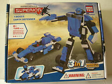 Earth Defenser Bric Tek Building Block Construction Toy, Super Heroes Style, New