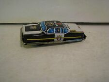 Vintage Tin Litho Toy Car Racer Made in Japan    police  3 1/2 inches