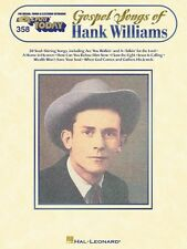 Gospel Songs of Hank Williams Sheet Music E-Z Play Today Book NEW 000100093