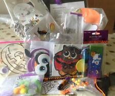 CHILDRENS HALLOWEEN CRAFT BOX (Scratch Art, Foam, Stickers, Beads etc) LAST ONES