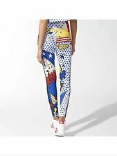 NEW RITA ORA ADIDAS ORIGINALS SUPER LEGGINGS WOMEN'S SUIT TROUSERS Size8(34)
