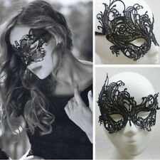 ANONYMOUS LACE MASQUERADE EYE MASK FANCY DRESS BALL PARTY GOTH ROCK ALCHEMY SEXY