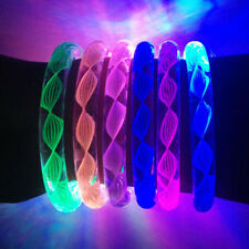 Favor LED Steady Glowing Light Up Rave Party Fashion Bracelets Bangles Wristband