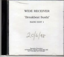 (DG535) Wide Receiver, Breakbeat Sushi - 1998 DJ CD