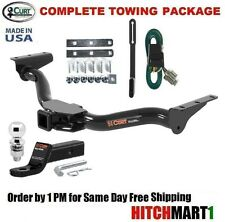 """FITS 2000-2004 NISSAN XTERRA CLASS 3  CURT TRAILER HITCH PACKAGE 2"""" TOW RECEIVER"""