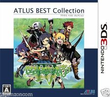 Sekaiju no Meikyuu IV ATLUS BEST COLLECTION NINTENDO 3DS JAPANESE  JAPANZON COM