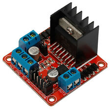 Dual H Bridge Stepper Motor Driver Board L298N Module for Arduino Smart Car