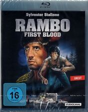 RAMBO I, First Blood (Sylvester Stallone) Blu-ray Disc NEU+OVP uncut