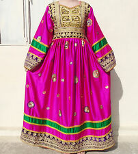 Kuchi afghan banjara tribal boho hippie style brand new robe ethnique ND-192