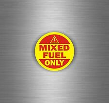 Sticker tuning decal car mixed fuel only gasoline vehicle trucks oil gas diesel