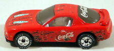 DTE MATCHBOX SUPERFAST PREPRO 8-J RED MAZDA RX7 W/COCA-COLA DECALS