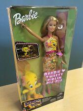 New Mattel Barbie Looney Tunes Back in Action Barbie Loves Tweety