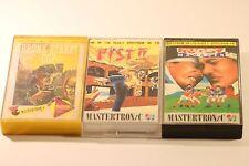 RARE Sinclair Spectrum 48k Games Pack (3 giochi in questo lavoro LOTTO) in scatola anni 1980
