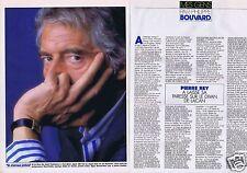 Coupure de presse Clipping 1989 Pierre Rey  (2 pages)