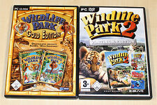 PC SPIELE SAMMLUNG WILDLIFE PARK 1 GOLD 2 PLATINUM EDITION CRAZY ZOO MARINE