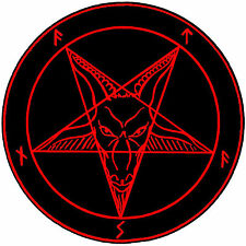 Framed Print - The Satanic Sigil (Picture Poster Devil Satan Lucifer Hell Art)