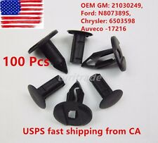 100 GM / Ford / Chrysler Push Type Retainer Clips 21030249/6503598/N1030249 US