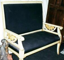 SOFA GARNITUR SET COUCH SESSEL THRON modern antik Empire Biedermeier Jugendstil