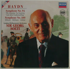 "HAYDN SYMPHONY No. 94 THE SURPRISE 100 MILITARY SIR GEORG SOLTI 12"" LP (h368)"