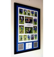 European Ryder Cup 2014 Winners – Multi-photo framed Presentation c/w signatures
