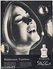 PUBLICITE ADVERTISING 115  1961  DR PAYOT  cosmétiques creme HYDRIANE