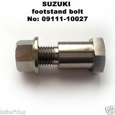 RGV250SP (VJ23) TITANIUM bike stand bolt.  No:09111-10027