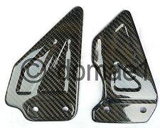 carbon fiber heel guards plates Suzuki GSX-R 600 750 1000   Y K1 K2 K3 K4
