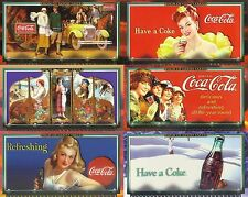 COCA COLA A SIGN OF GOOD TASTE 1996 COLLECT-A-CARD COMPLETE BASE CARD SET 72 AV