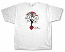 "RED HOT CHILI PEPPERS ""TREE"" ASTERISK WHITE T-SHIRT NEW OFFICIAL ADULT 2XL XXL"