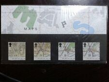 (16) - UK Mint Stamps in Presentation Pack - Maps