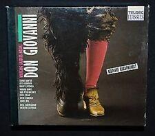 Mozart Don Giovanni Hampson Harnoncourt 3CD & BOOK ORIGINAL TELDEC GERMANY 1989