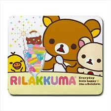 Rilakkuma Bear Mousepad Mouse Mat Pad Sanrio Cute Kawaii Japan kitty cute