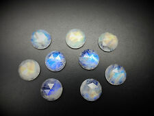 48.28 Cts 100% Natural Blue Fire Rose Cut Quality Moonstones Loose Gemstones 009