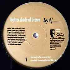 "A LIGHTER SHADE OF BROWN - Hey D.J.... (12"") (G-/NM)"