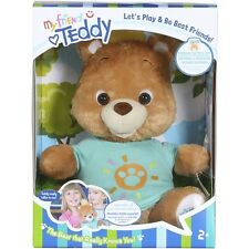 Interactive ~My Friend Teddy - Talking Smart Bear - Speaks English & Spanish TAN