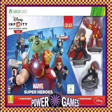 Disney Infinity Starter Pack 2.0 Marvel Super Heroes (Microsoft Xbox 360) BN