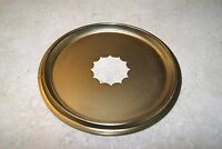 KITCHEN CLOCK SOLID BRASS SCALLOPED DIAL PAN NEW CLOCK PART 6 3/8