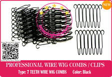 7 TEETH 14 PIECE SMALL WIRE WIG COMB TO LACE FRONT HAIR WIGS-HAIRPIECE-TOUPEE