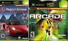 PROJECT GOTHAM RACING 2 + XBOX LIVE ARCADE NEW  2 GAMES