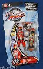 "Power Rangers RPM Rapid Pursuit 5"" Red Eagle Ranger New  Factory Sealed 2009"