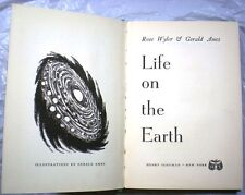 LIFE ON THE EARTH Gerald Ames Rose Wyler Pre-Golden Book of Biology 1953 RARE!!