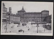 464 TORINO -Piazza Castello e Palazzo Reale.