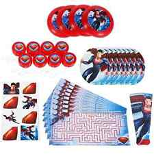 Man of Steel Superman Comic Superhero Birthday Party 48 pc. Favor Pack Toys