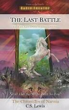 NICE AUDIO BOOK THE LAST BATTLE THE CRONICLES OF NARNIA C.S. LEWIS 3 CASS